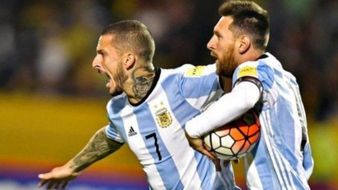 Dario Benedetto vistió la camiseta de la Selección Argentina hasta...