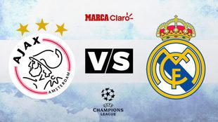 Ajax vs Real Madrid, formaciones, horario y dónde ver por TV