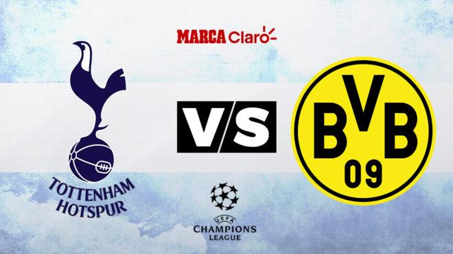 Tottenham Hotspur vs Borussia Dortmund, formaciones, horario y dónde...