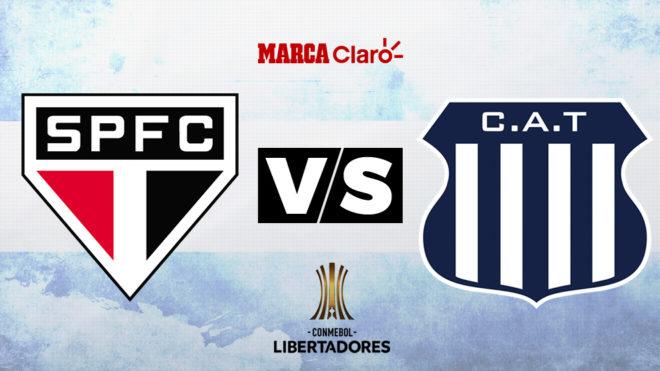 São Paulo vs Talleres, formaciones, horario y dónde ver por TV