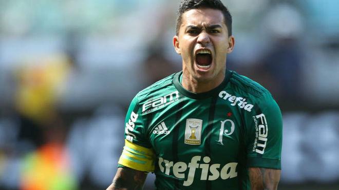 Dudu y una muestra de amor al Palmeiras.