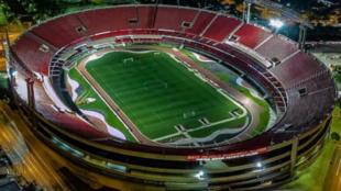El mítico Morumbi, el tercer estadio más grande de Brasil.