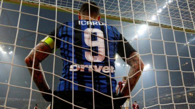 Mauro Icardi reaparece tras su polémica en Inter