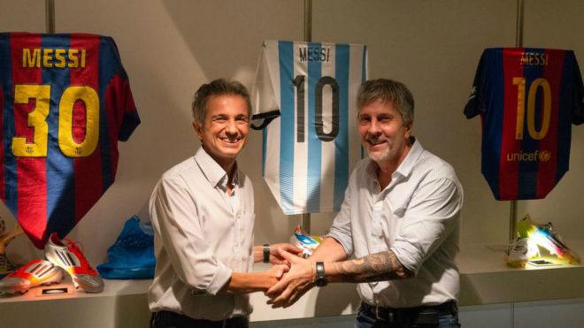 Jorge Messi, director de la Fundación Messi.