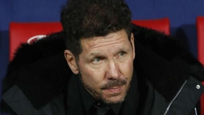 Diego Simeone, el dueño del Atlético de Madrid.