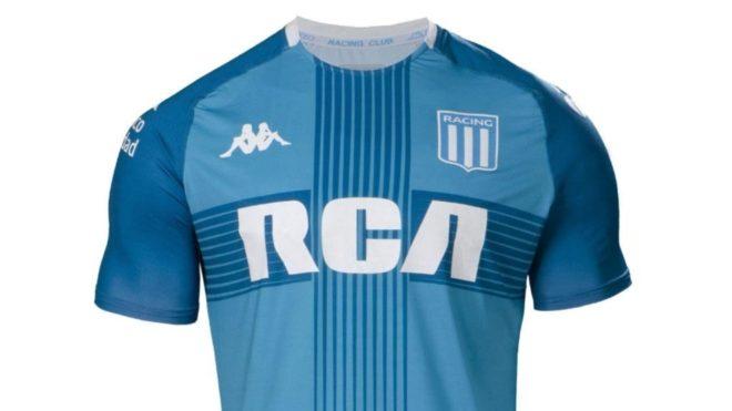 La nueva camiseta de Racing