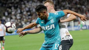 Racing se trae un empate con gol de visitante de Brasil