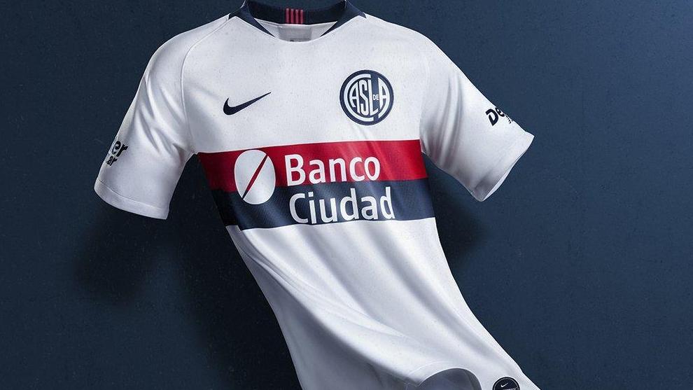 d32dfc181 San Lorenzo  San Lorenzo da a conocer su nueva camiseta suplente ...