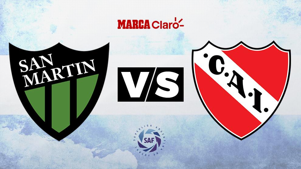 San Martín de San Juan vs Independiente: Formaciones, horario y...