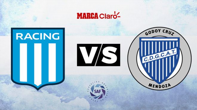 Racing vs Godoy Cruz, formaciones, horario y dónde ver por TV