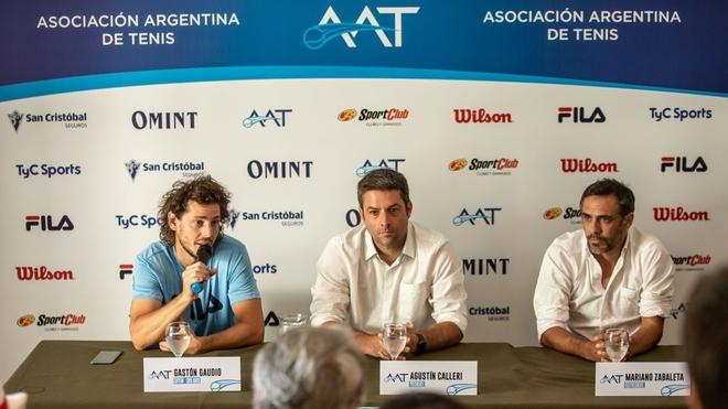 Gastón Gaudio fue presentado como el capitán de la Copa Davis 2019.