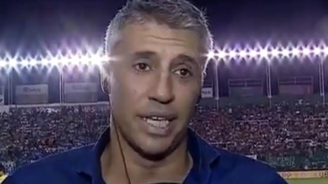 El entrenador se refirió al partido y al cruce con el Muñeco.