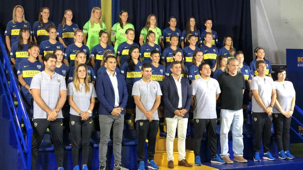 Equipo femenino de Boca jugará en La Bombonera