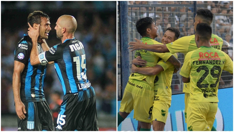 Racing y Defensa y Justicia los líderes de la Superliga