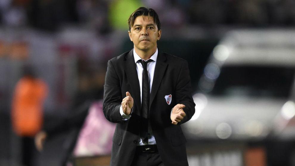 Marcelo Gallardo mantiene dudas para armar el equipo titular