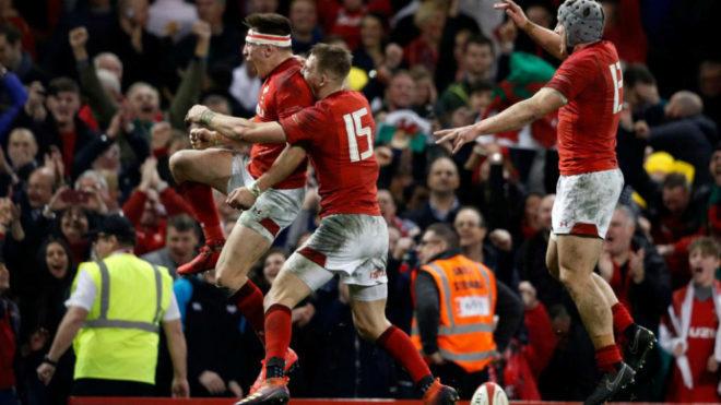 Festeja Gales que lleva está invicto en el Seis Naciones