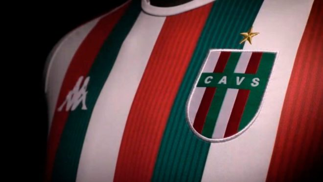 Vélez presenta su nueva camiseta tricolor y ¡hasta cambia el escudo!