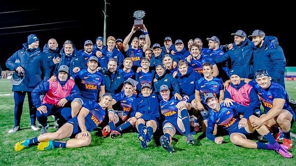 Argentina XV se proclamó campeón
