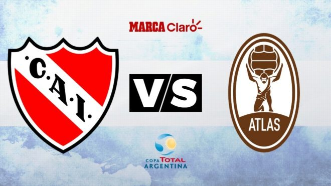 Independiente goleó a Atlas 4-0 — Copa Argentina