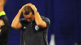 A Heinze le cuesta la Copa Argentina
