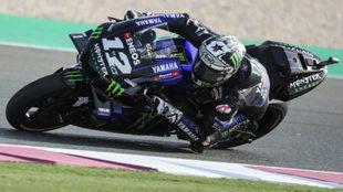 Maverick Viñales logra la pole de MotoGP en Qatar