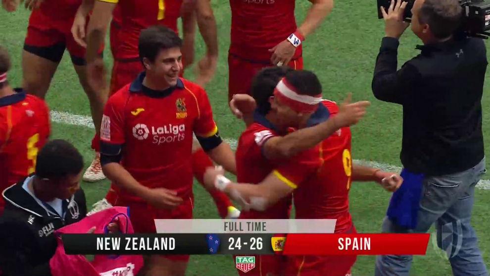 España venció a Nueva Zelanda en seven