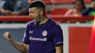 Gigliotti abrió la cuenta para el Toluca
