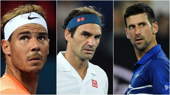 Nadal y Federer, en disputa con Djokovic