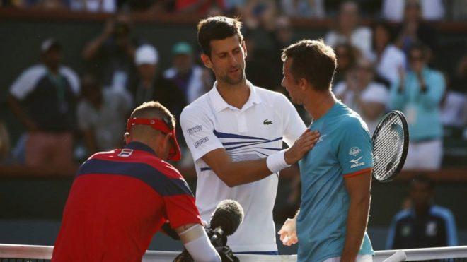 Inesperada hecatombe de Novak Djokovic ante Kohlschreiber