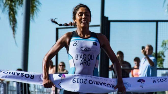 Romina Biagioli consigue el primer oro en los Juegos Suramericanos de...