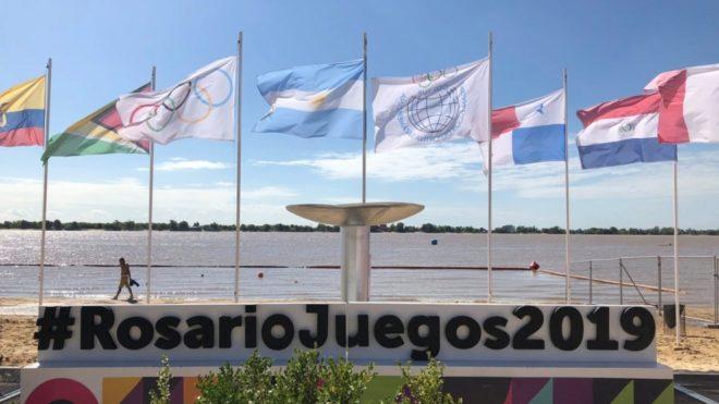 Se ponen en marcha los Juegos Suramericanos de Playa Rosario 2019