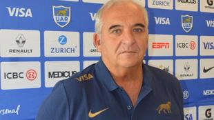 Fernández Gill será el entrenador de scrum de Los Pumas