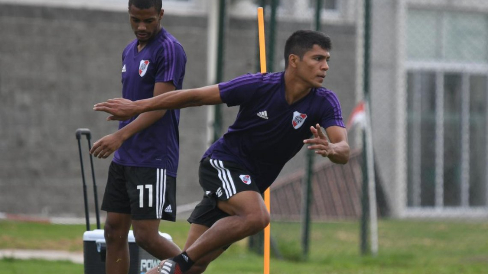 Rojas no podrá estar ante Independiente