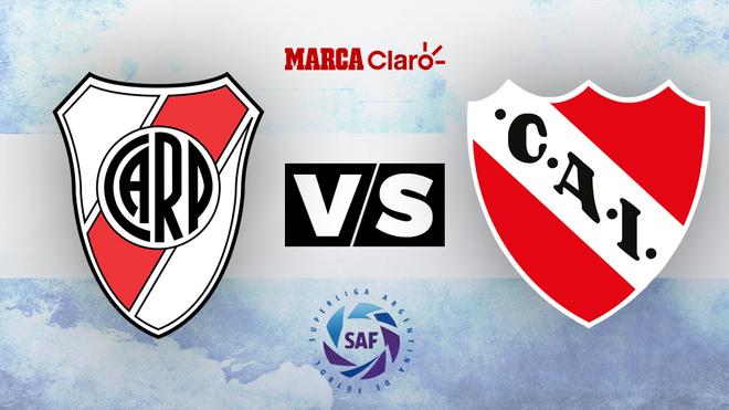 River vs Independiente: Horario y dónde ver en tv en vivo el partido...