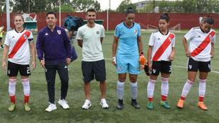 Gallardo y Ponzio presenciaron el fútbol femenino de River