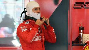 Vettel no logra despertar
