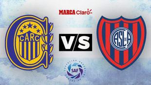 Rosario Central vs San Lorenzo: Horario y dónde ver en tv en vivo el...