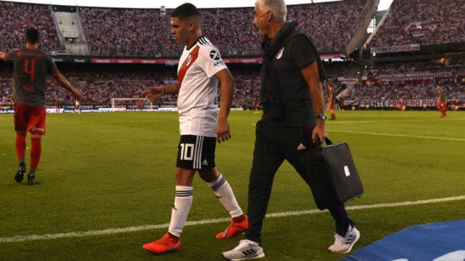 Quintero se rompió el ligamento cruzado de su rodilla izquierda