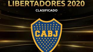 Conmebol felicitó a Boca por acceder a la Libertadores 2020