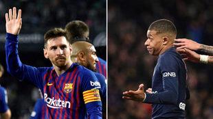 Leo Messi y Mbappé, goleadores este fin de semana.