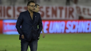 Antonio Mohamed, director técnico de Huracán.