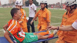 Quintero sufrió una grave lesión jugando para Envigado