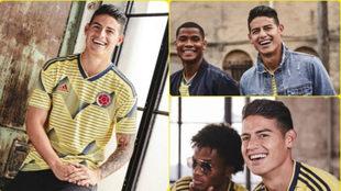 La Selección Colombia presentó su camiseta para la Copa América