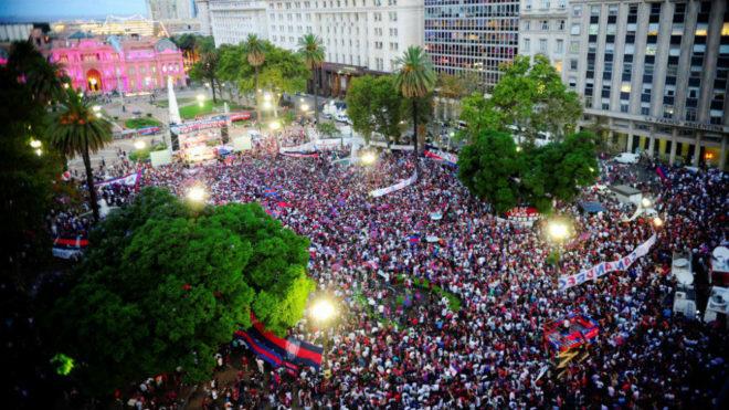 San Lorenzo festeja el día del socio refundador