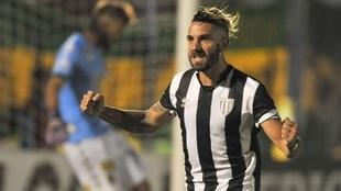 Patricio Cucchi anotó el único tanto del partido.