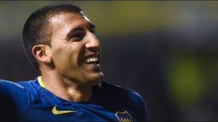 Ramón Ábila, goleador de Boca.
