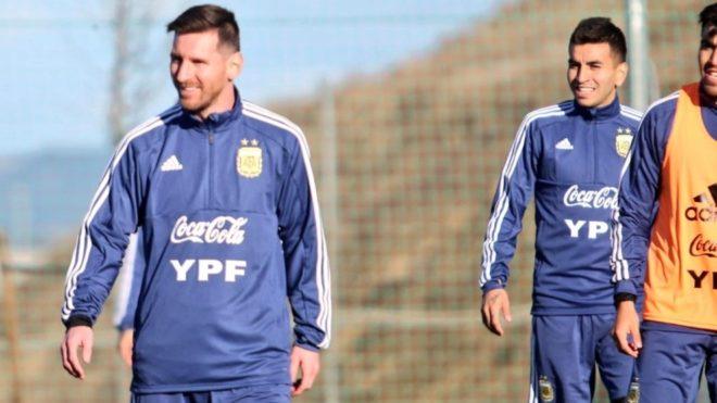 Lionel Messi, capitán de la Selección Argentina.
