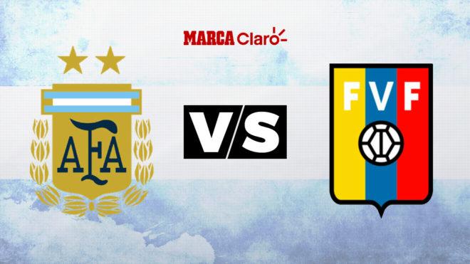 Argentina vs Venezuela: horario y dónde ver en TV