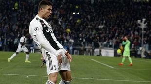 La UEFA ha sancionado a Cristiano Ronaldo por este gesto.