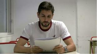 Germán Lux en el Instituto River Plate